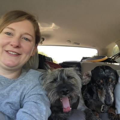 tiffany-burnette-camping-with-dogs-driving