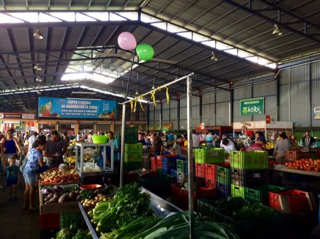 Market in Costa Rica