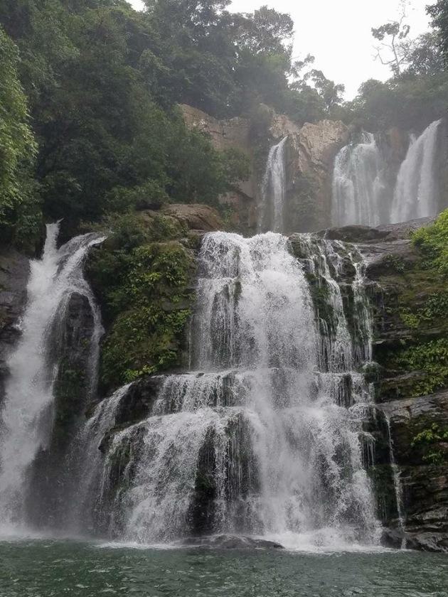 Waterfalls in Tinamaste, Costa Rica