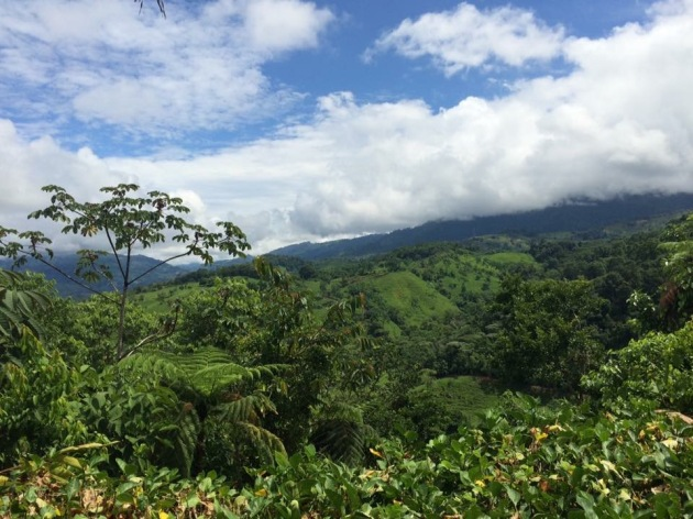 Mountains in Tinamaste, Costa Rica